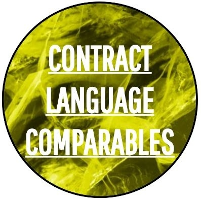 Contract Language Comparables